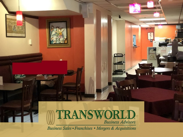 Downtown Indian Restaurant for Sale