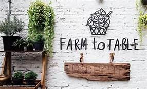 High end farm sourced restaurant with daily menu
