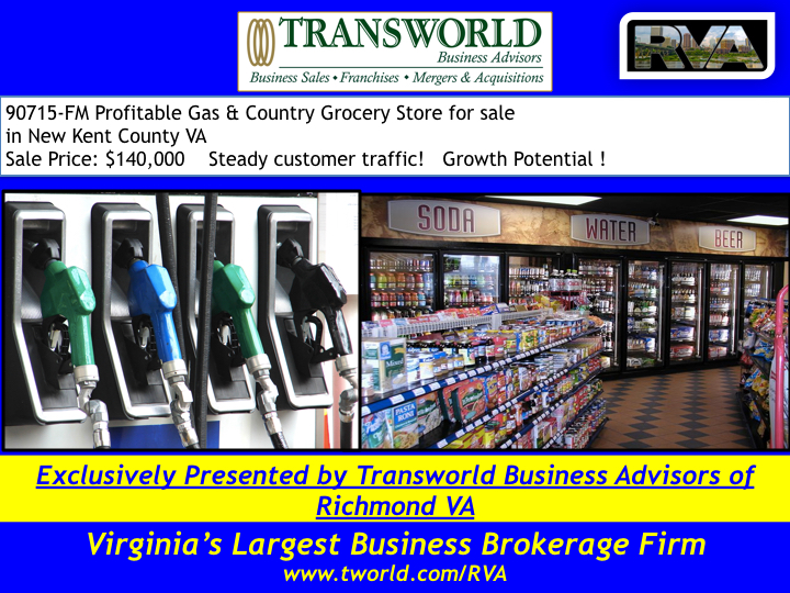 Profitable gas & country grocery for sale