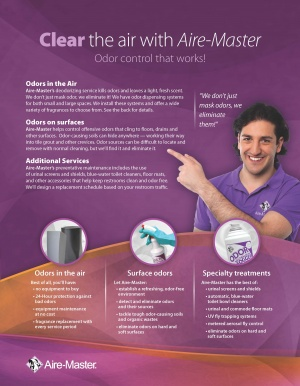 Odor Control products and services