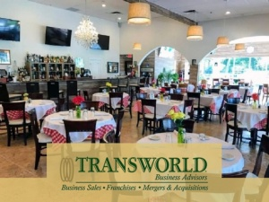 Italian Restaurant for Sale in Pembroke Pines