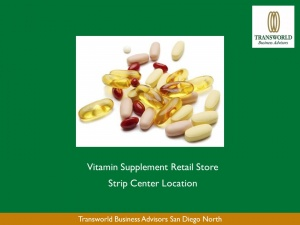 Vitamin and Nutrition Supplement Retail Store