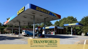 90847-CW Freeway Exit Branded Gas Station C Store with Property