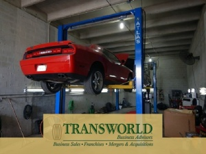 Fully equipped independent full service auto repair shop
