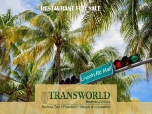 Lincoln Road Restaurant for Sale