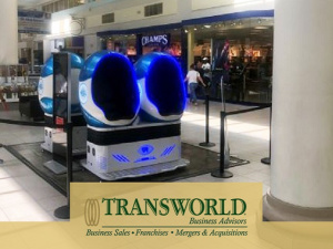 Virtual Reality Entertainment in Mall